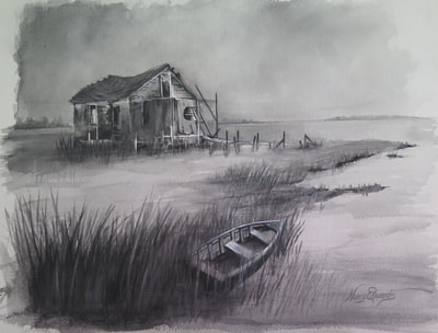 The Shack (Sold) Prints Available
